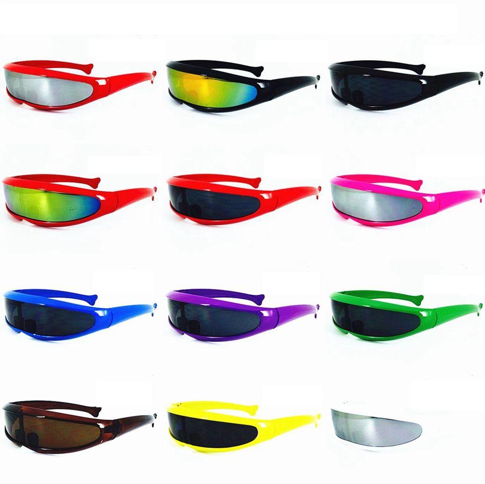 5ffaa7384b Fish Shaped Laser Casual Sunglasses Eye Glasses X-Man Eyewear ...