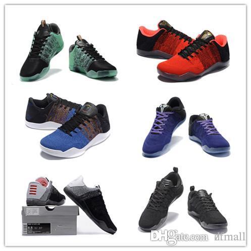 328836796d2 2018 NEW High Quality Kobe 11 Elite Men Basketball Shoes Kobe 11 Red Horse  Oreo Sneakers KB 11 Sports Sneakers With Shoes Box KB 11 Basketball Shoes  11 KOBE ...