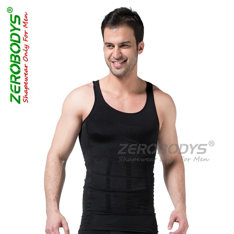 dd3b6487a1 Men Shaper Vest Body Slimming Abdominal Curl Bodybuilding Underwear ...