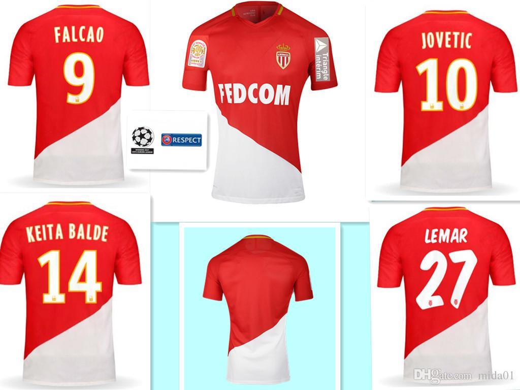 Maglia Home AS Monaco personalizzata