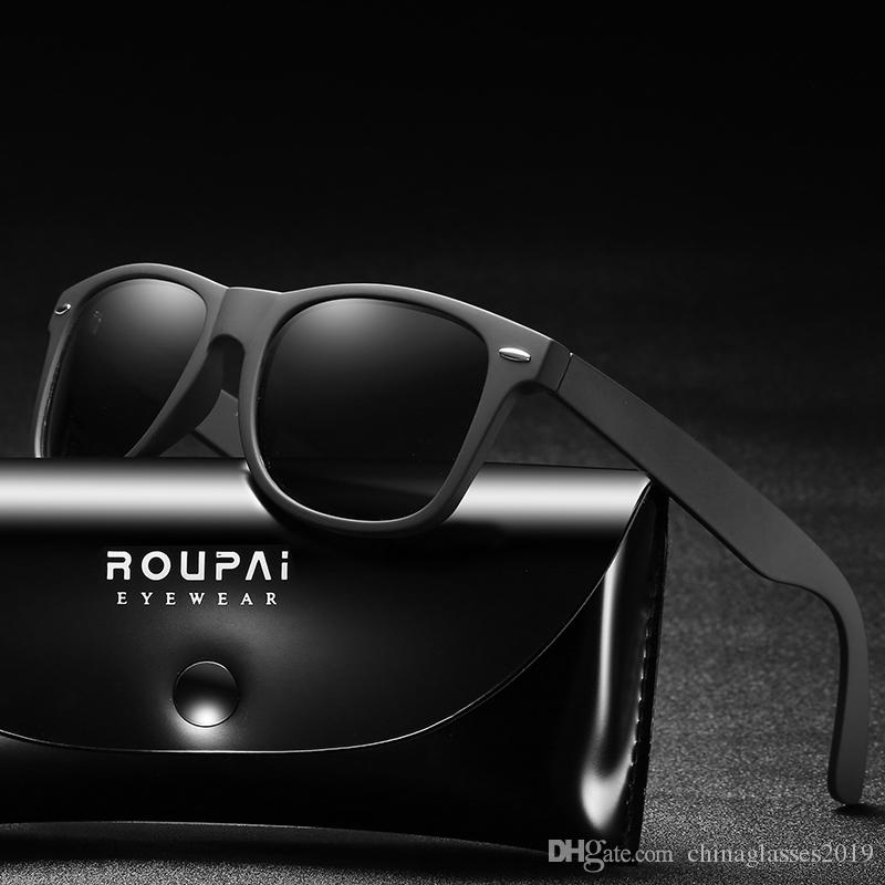 c79af84159e Brand Design Polarized Sunglasses Men Driver Shades Male Vintage Sun ...