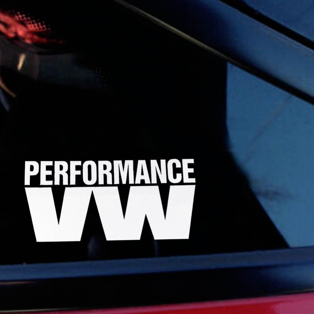 2019 2018 new top fashion words performance vw reflective car sticker bomb stickers autocollant voiture for tiguan golf 6 from tonethiny 21 35 dhgate