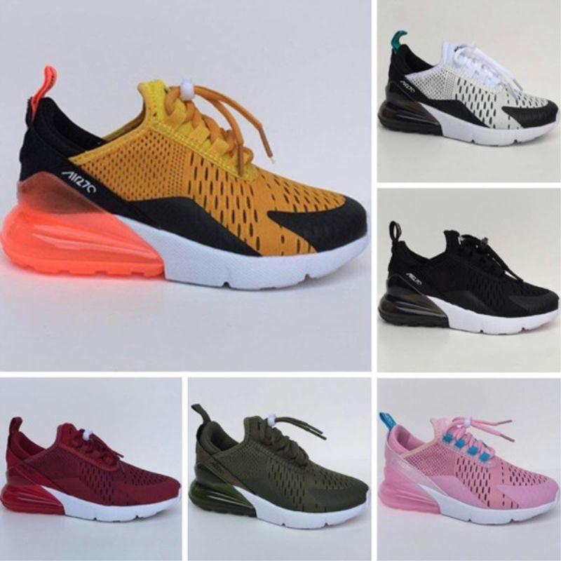 f8867c94c Kids 2018 Infant Air Cushion 270 Running Shoes Black White 270 ...