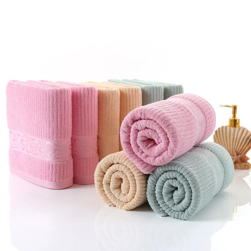 100% Organic Cotton Adult Bath Towel Couple Beach Towel Quick Drying ...
