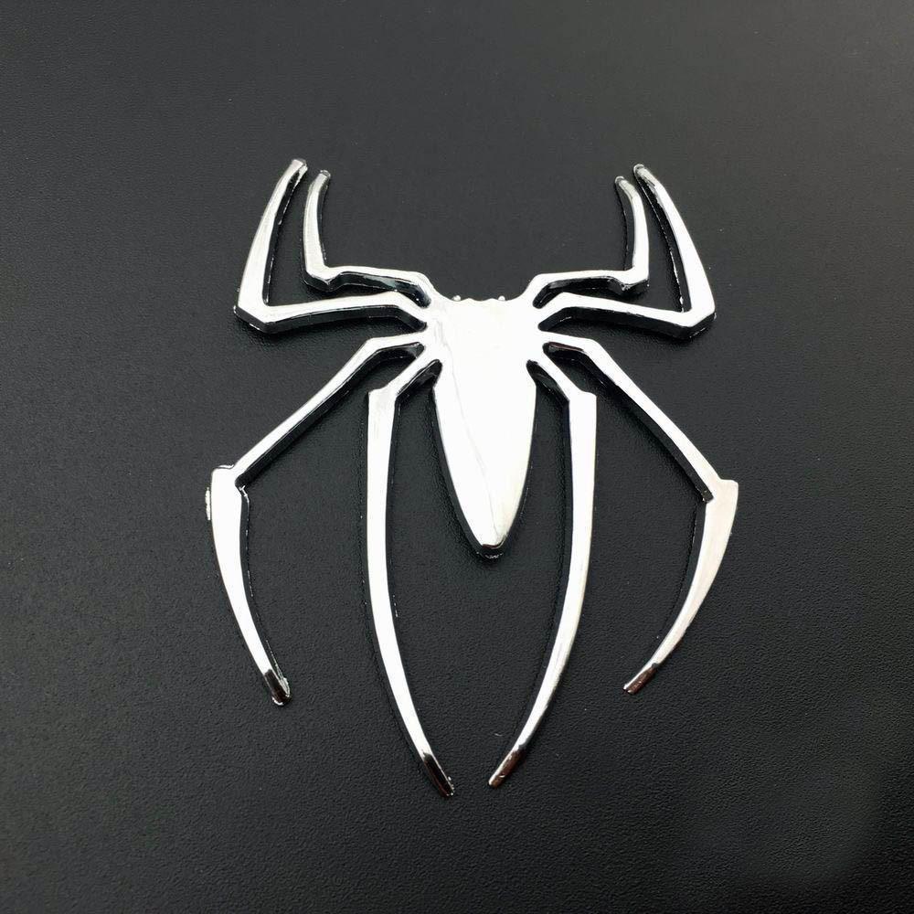 2019 Metal Spider Man Logo Metal Car Body Side Door Rear Trunk Lid