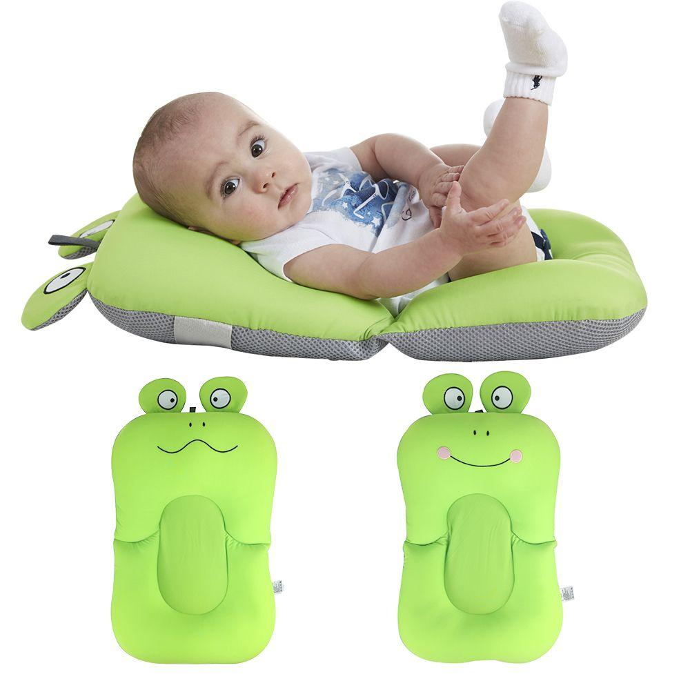 2018 Baby Bath Tub Newborn Baby Foldable Bathtub Shower Cushion Non ...