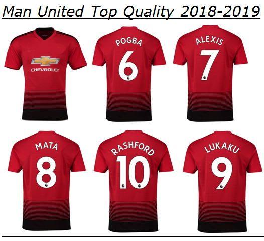 77aec4ef2 2018 2019 Premier League ALEXIS LUKAKU POGBA MAN FRED UTD LINGARD 10 ...