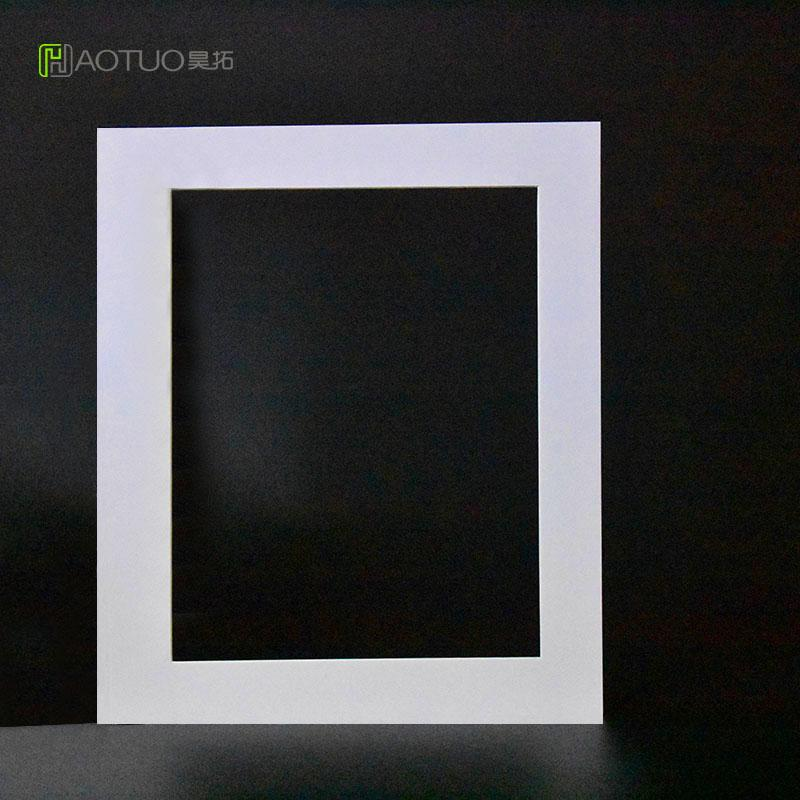 2018 Photo Frame White Acid Free Cardboard Easel Mats 8x10 Pictures ...