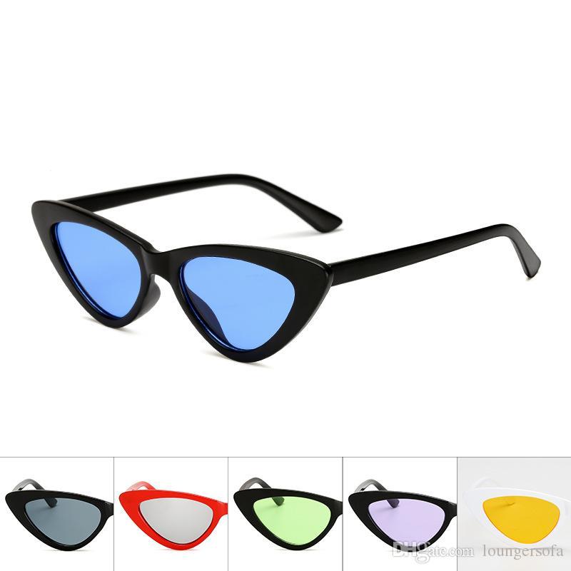 Women Fashion Sunglasses Outdoor Triangle Cat Eye Retro Eyewear Lady Street Pat Classic Eyeglasses Hot Sale 3 5am WW