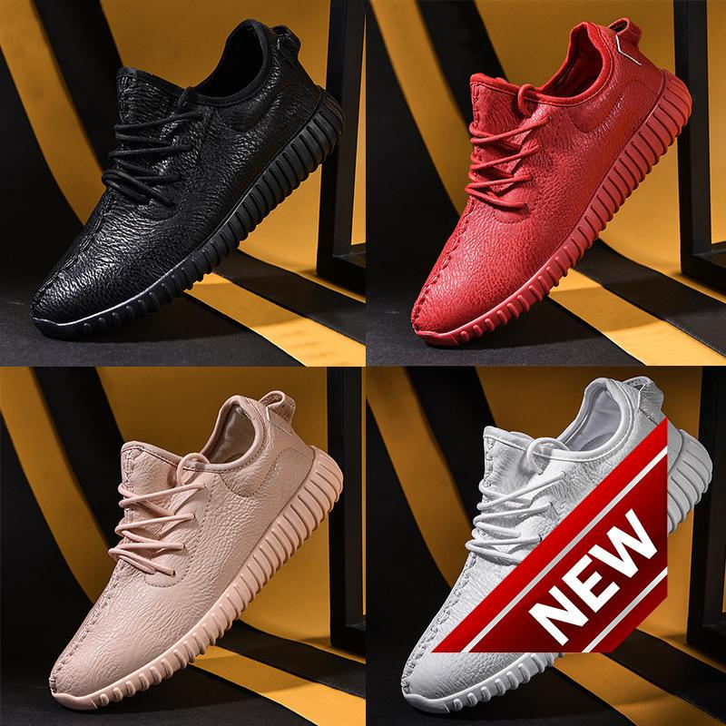 European and American new coconut running shoes, high quality leather, antiskid, breathable fashion casual shoes, fashion sports shoes