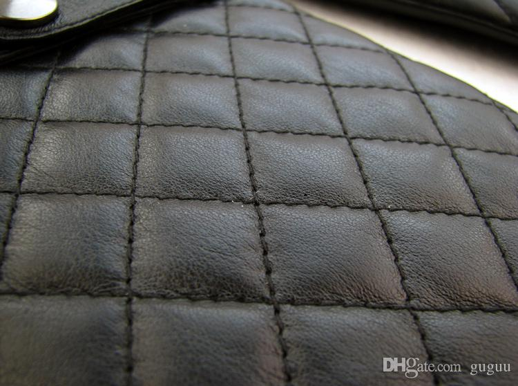 men's\man winter\hiver Genuine leather sheep skin soft warm five fingers gloves black argyle fleece punk touch screen calefactables guantes
