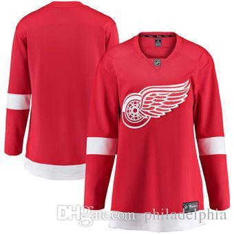 2018 Nhl Hockey Jerseys Cheap Custom Women s Detroit Red Wings Fanatics  Branded Blue Breakaway Home Jersey Store Usa Sports Hockey Jersey AD Cheap  Hockey ... 8969c99b00