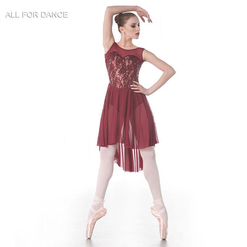 b604255e6 2019 New Sequin Lace Top Bodice Lyrical Dance Costume Ballet Dress, Dance  Skirt Women & Girl Dress From Weikelai, $62.69 | DHgate.Com