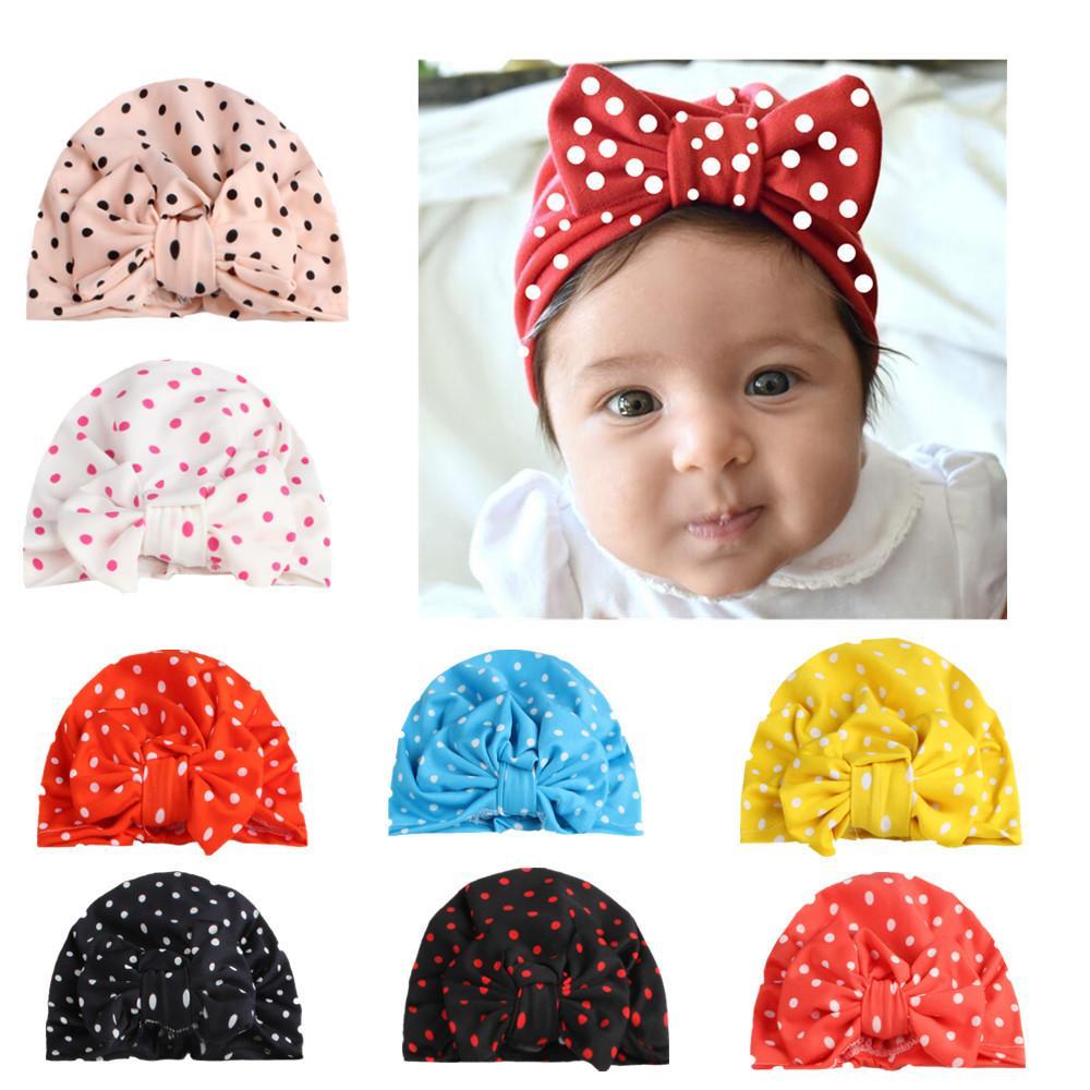 Compre 2018 Nuevo Sombrero De Tejer Puntos Bowknot Hat Arcos Cap ...