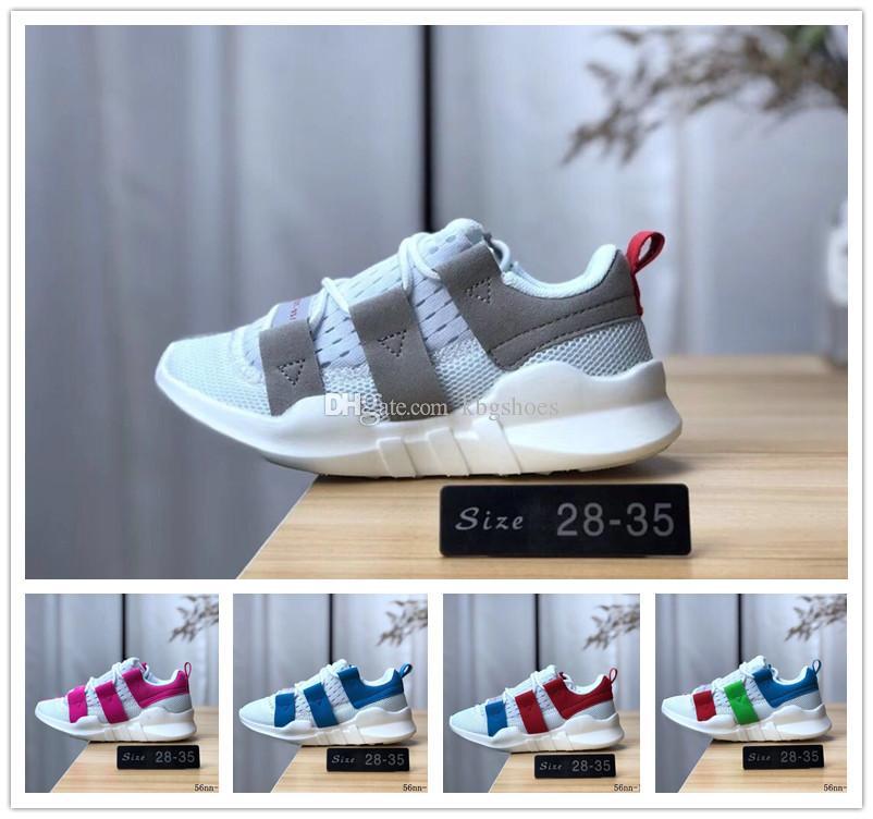 Adidas Prophere EQT Chaussures pour enfants Enfants EQT Soutien Primeknit vente chaude chaussures de course pour garçons et filles chaussures de