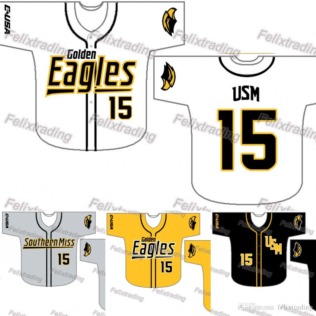 new concept fcdbb d3f0f where can i buy southern mississippi golden eagles 4 favre ...