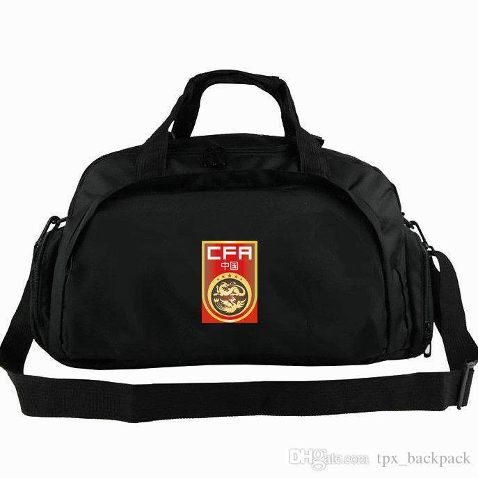 8fcd735741 China Duffel Bag CFA National Tote Dragon Phoenix Emblem Football Team Backpack  Soccer 2 Use Luggage Sport Shoulder Duffle Badge Sling Pack Laptop Bags For  ...