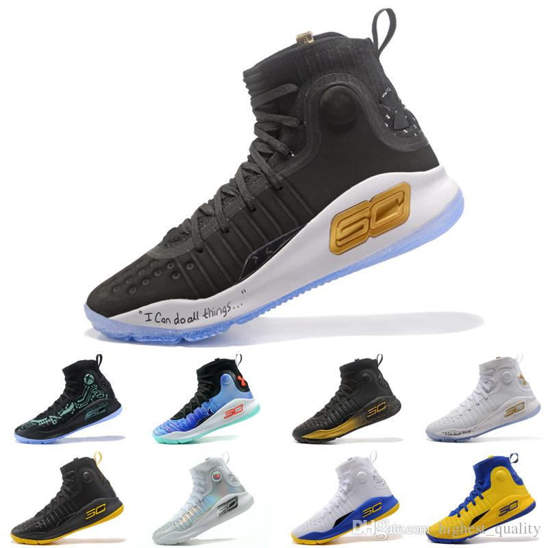05e55e0891d denmark under armour ua stephen curry 4 mens basketball shoes gold  championship mvp finals sports sneakers