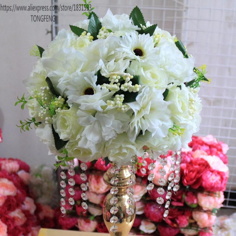 Wedding Decoration Artificial Flowers Wedding Decoration Table