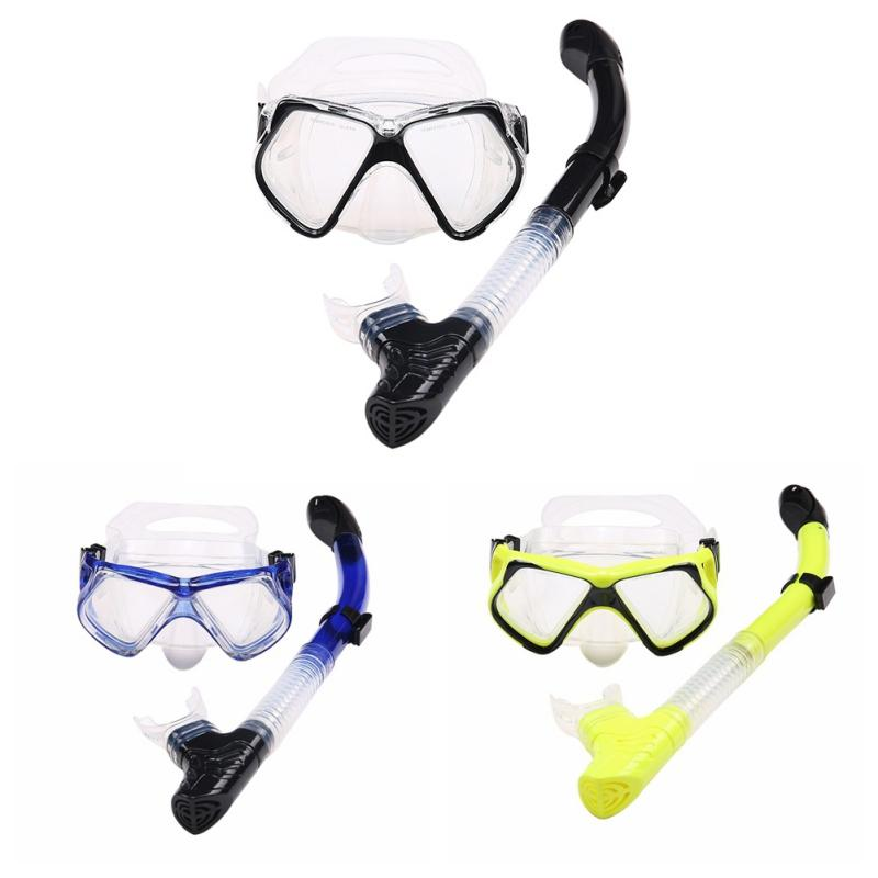 aef05588738 2019 2018 Adult PVC Scuba Goggles Swimming Goggles Positive Snorkel  Professional Swimming Training Snorkeling Equipment Bthi From Java2013