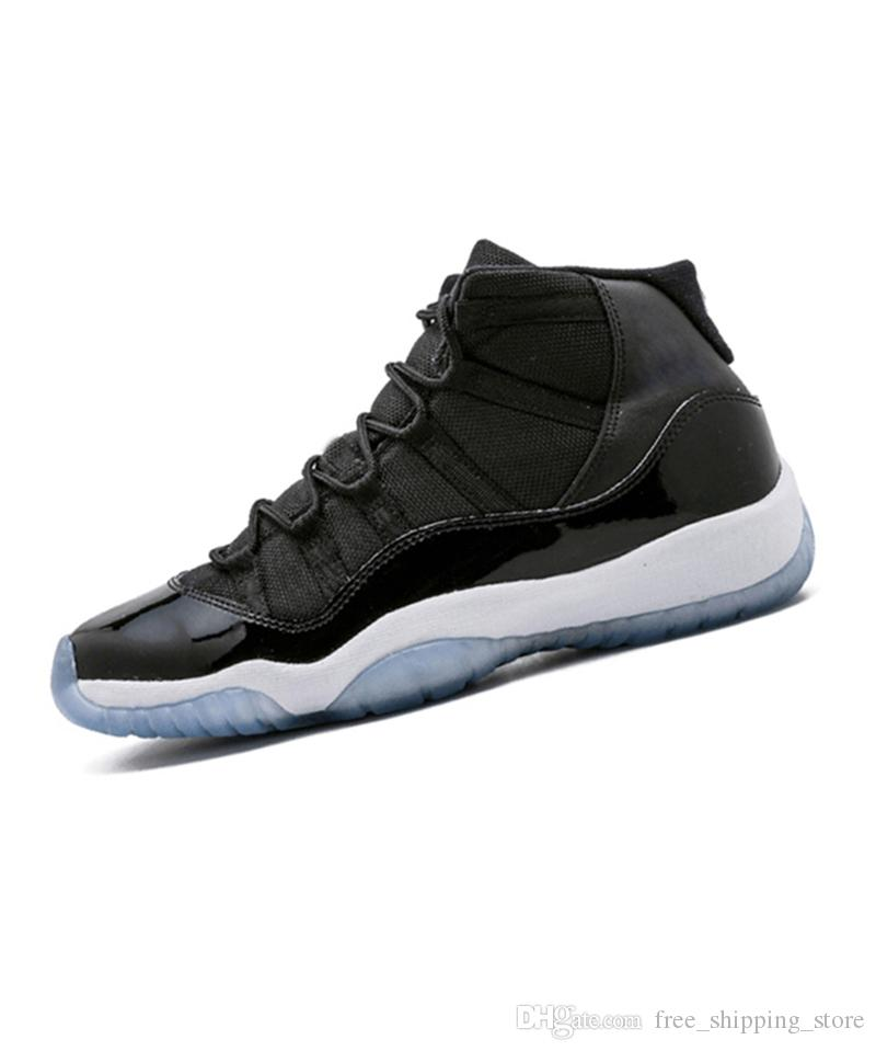 6bc2bcc5f9b2 New Arrival 11 11s Prom Night Basketball Shoes Men Women Blackout ...