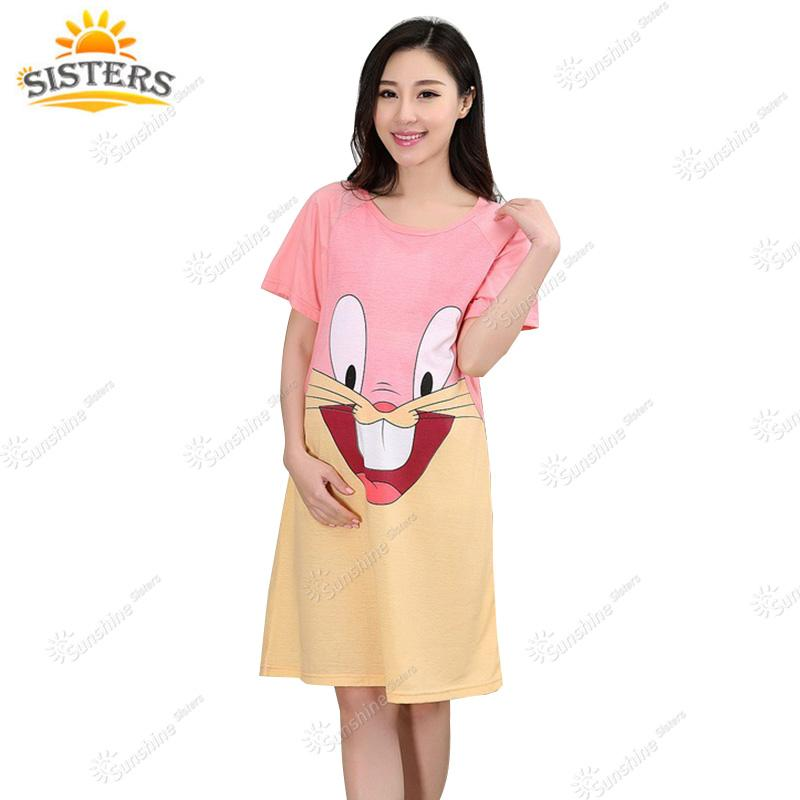 9af0a5a24dd Casual Dress For Pregnant Clothes Summer New Maternity Sleepwear ...