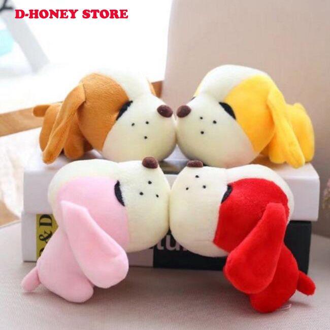 15 см собака плюшевые игрушки куклы чучела животных милые плюшевые игрушки Детские игрушки для детей супер мило собака подвески