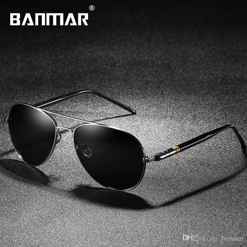 19199e3f75 BANMAR Sunglasses Men Polarized Luxury Brand Designer Sun Glasses ...