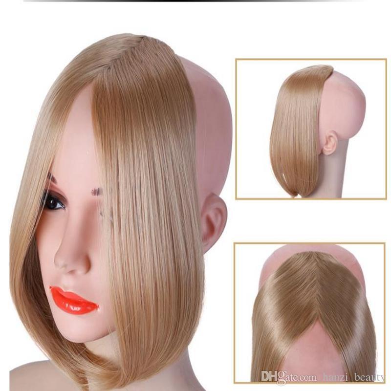 Long Bangs Girls Side Bangs Fake Fringe Synthetic Clip In Hair