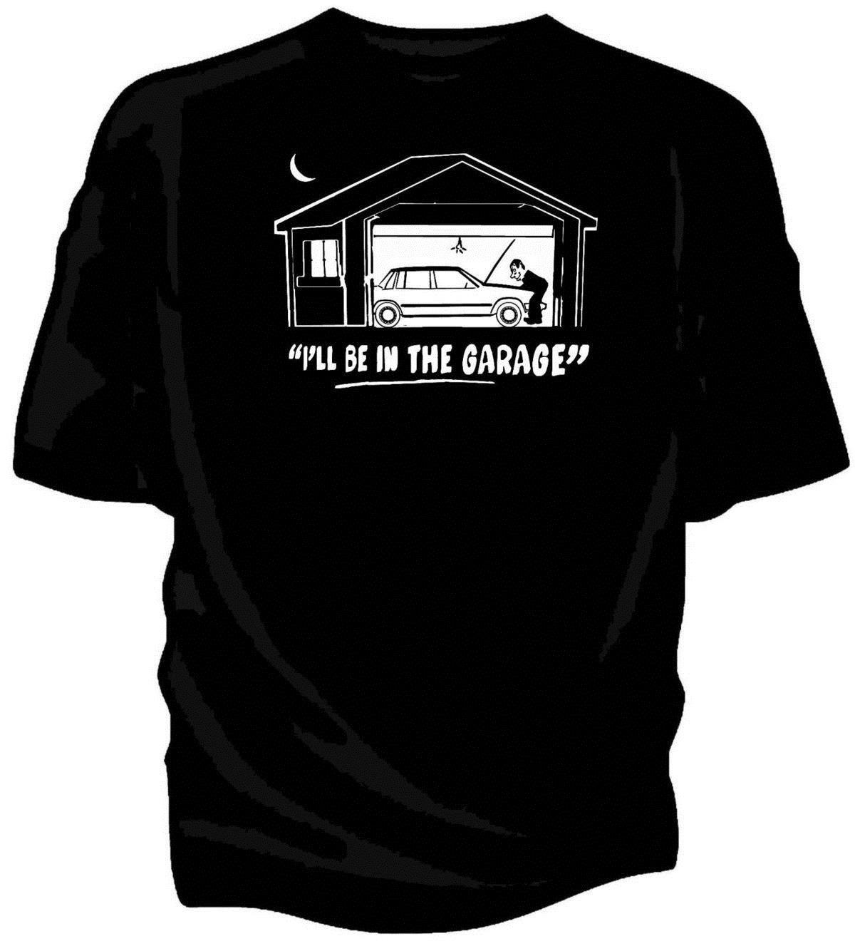 I Ll Be In The Garage Classic Car T Shirt Volvo 740 T Shirts Man