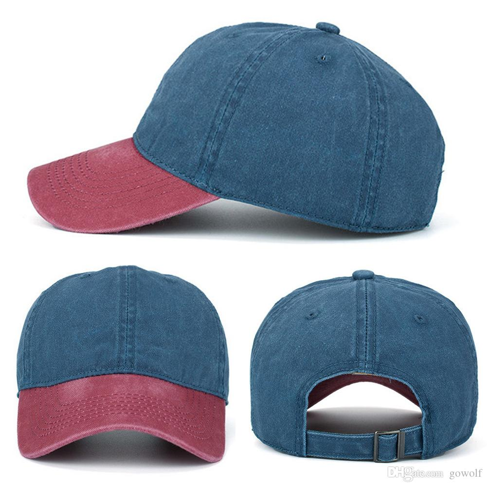 135bc5793 Bulk Lots 25 Colors Denim Baseball Caps Ponytail Hat Casquette Snapback  Designer Hats Dad Hat Fitted Hats Women Mens Hats Luxury cap