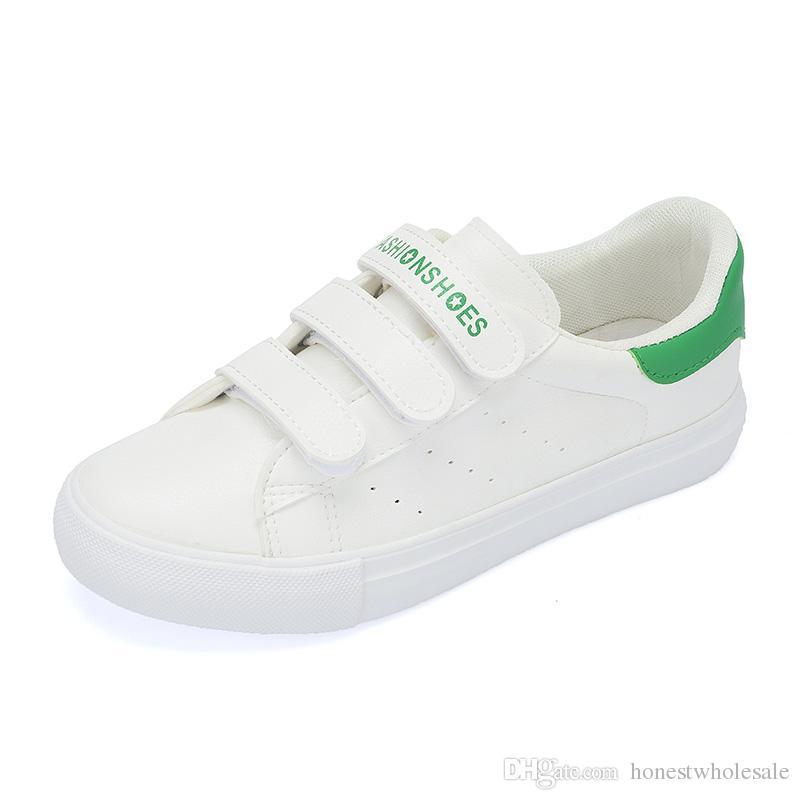 aacd289e23e97 Compre 2018 Raf Simons Verde Stan Smith Primavera De Cobre Branco Rosa  Preto Sapato Da Moda Homem De Couro Casual Sapatos De Homem Mulher Sapatos  Flats ...