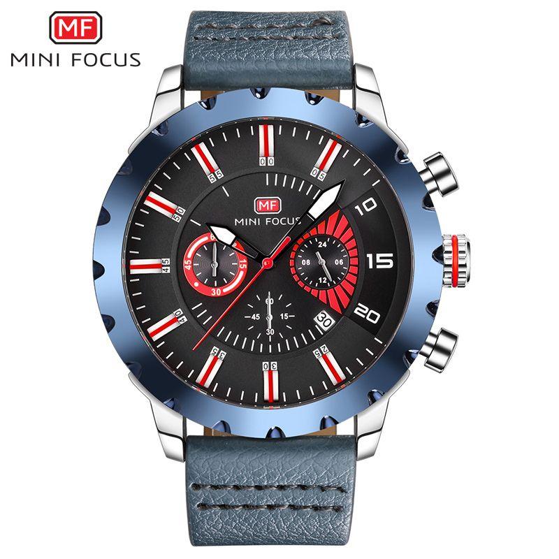 733f4b3110e Compre Mini Foco Mf0079g Relógio De Pulso Dos Homens Top Marca De Luxo  Famoso Relógio Masculino Relógio De Quartzo Relógio De Pulso Relogio  Masculino De ...