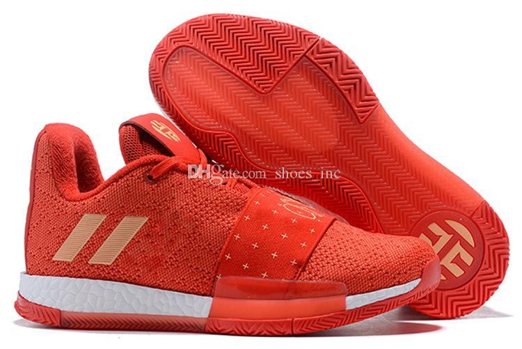 e7ac8066839c 2019 Harden Vol.3 Mens Basketball Shoes High Quality James Harden Vol.3  Sneakers Men Red Grey Black Trainers Sports Shoes Size 40 46 From  Shoes inc
