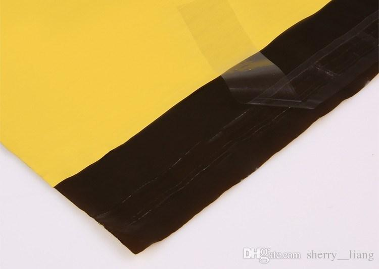 HARDIRON 254x370mm Self Sealing Plastic Poly mailer Shipping Envelope/ Mailing Bags/ Yellow Color Plastic Postal Mailer