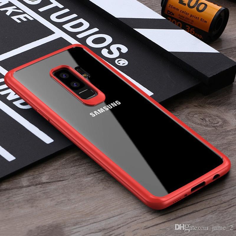 Чехол для телефона для Samsung Galaxy S9 plus чехлы Luxury Fashion Прозрачный ТПУ Мягкий телефон Задняя крышка для Samsung S9