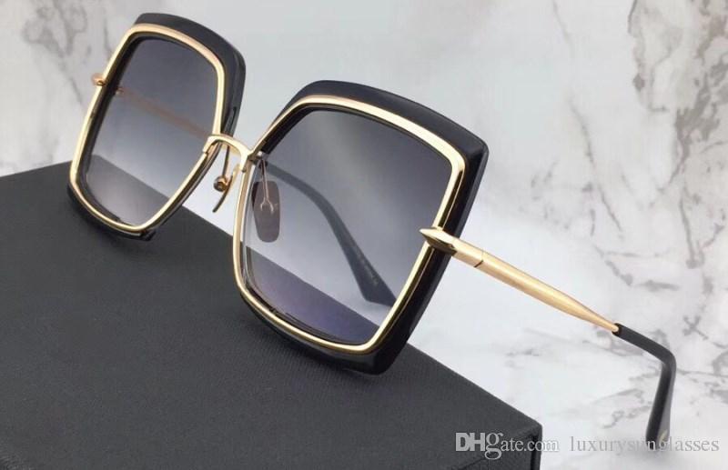 911bfe44860 Luxury Designer Sunglasses NARCISSUS Titanium Sunglasses 24K Gold ...