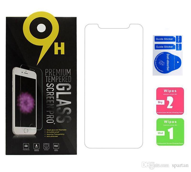 For LG Stylo 4 K30 V20 V30 G6 Tempered Glass Screen Protector Clear Film 9H 2.5D Anti-shatter with Packaging