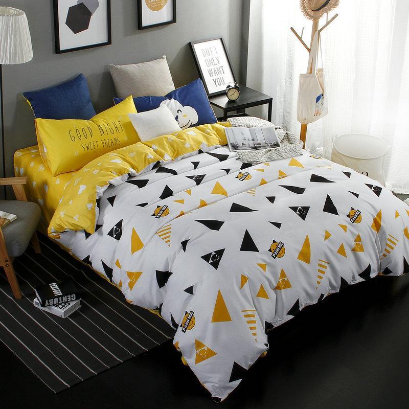 Großhandel Nordic Style Geometrische E Bettwäsche Set Moderne Aloe
