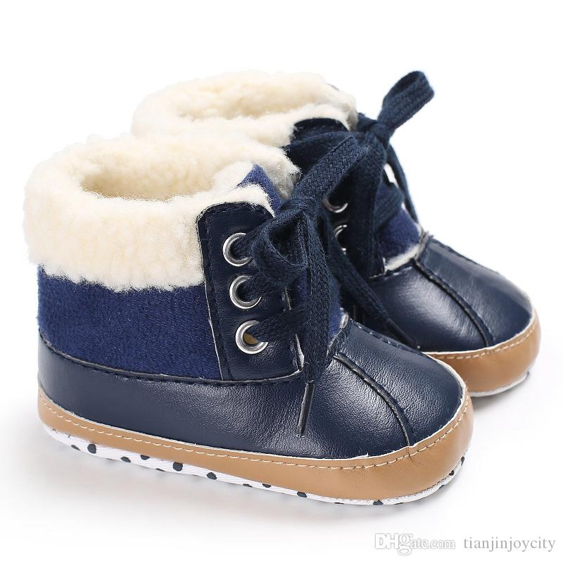 ccaccfbf9 New Winter Neutral Casual Shoes with Fleece Warm Soft Sole 0-1 Year ...