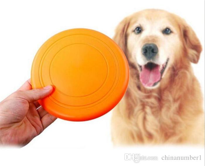 Pet Toys for Dogs Dog Frisbee Multi Colors Soft Toys Throwing Safe Non-Toxic Perfect For Pets Outdoor Playing Training C016