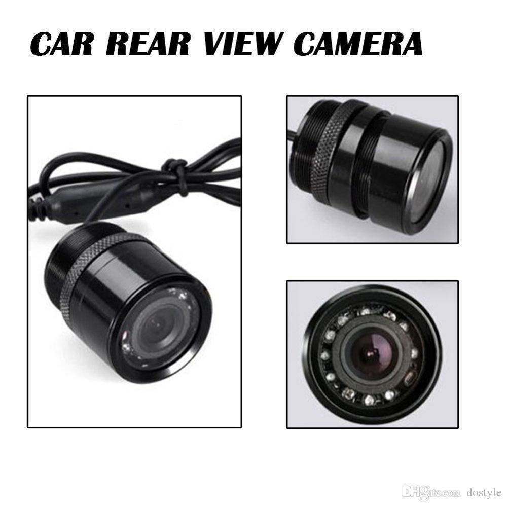 مواقف السيارات المساعدة IR الأشعة تحت الحمراء للماء لا أمام سيارة كاميرا للرؤية الخلفية IR ليلة الرؤية لمواقف السيارات الخلفية النسخ الاحتياطي كاميرا الرؤية