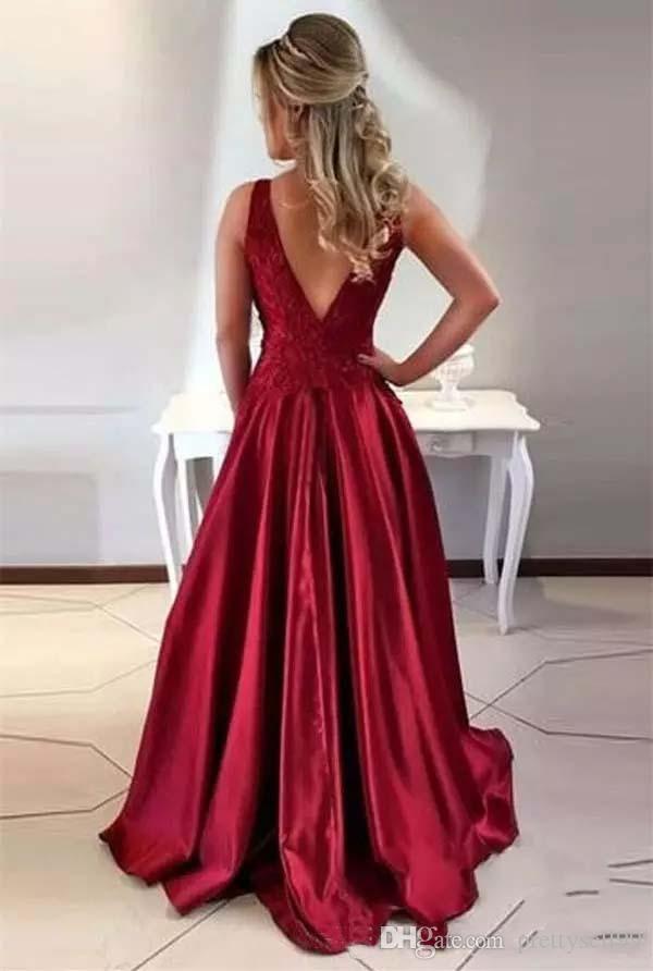 Personalizado arabi lace prom vestidos 2018 com apliques de jóias de cetim pescoço trem de varredura backless vestidos de festa à noite