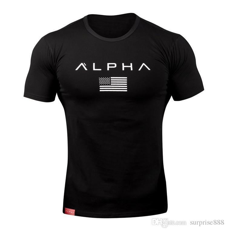 Summer Men's Skinny T-Shirt 2018 New Brand Clothing Apparel Gym Tight T-Shirt Men's Fitness T-Shirt Men's Sportswear Summer Tops homme Gym T