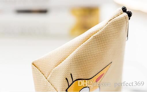 NEW emoji cat Coin purse canvas key holder wallet hasp small Christmas gifts bag clutch handbag