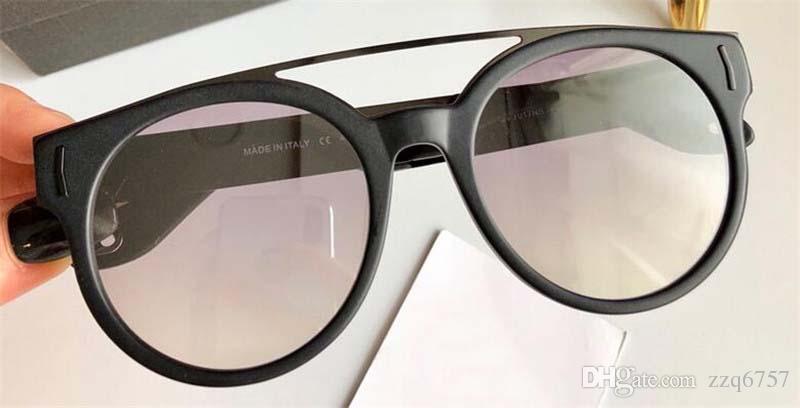537811acbc New Fashion Designer Sunglasses 7017 Round Frame Letters Metal Legs ...