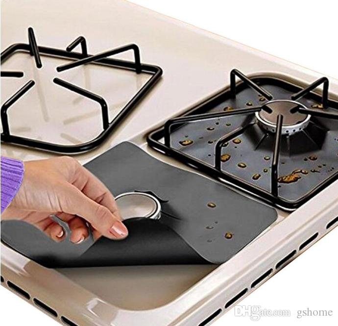 Superbe Online Cheap Reusable Gas Stove Burner Covers Non Stick Stovetop Burner  Liners Gas Range Protectors Size 10.6inch Double Thickness 0.2mm By Gshome  | Dhgate.