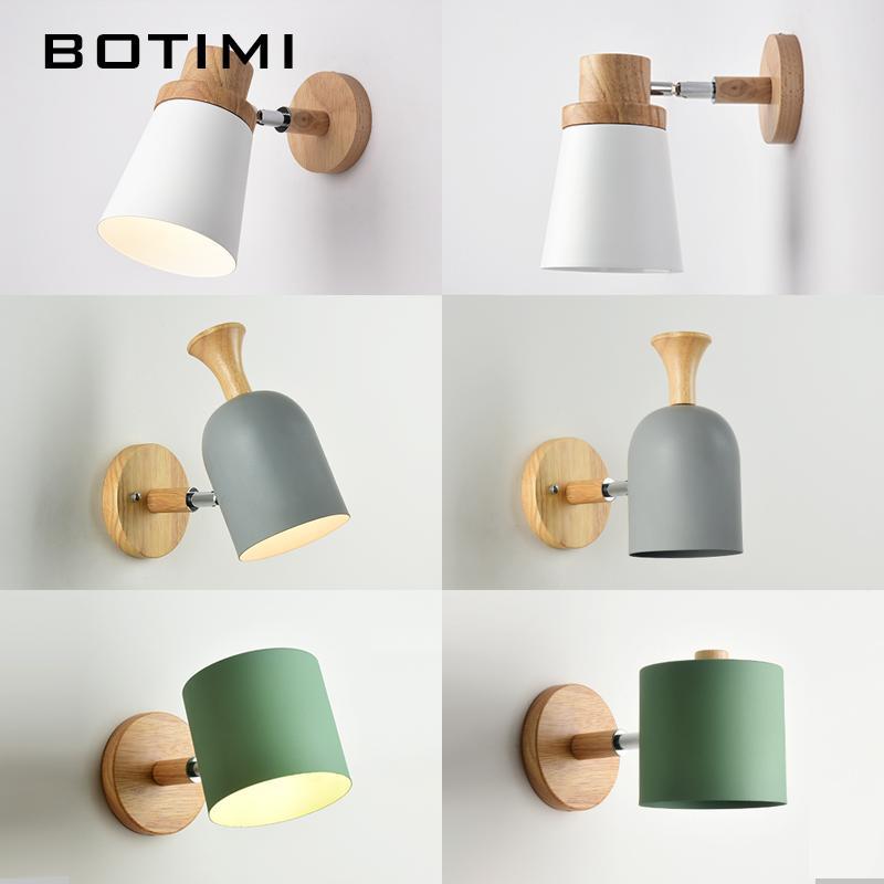 acheter botimi nordic led applique pour chambre de lecture applique murale chevet luminaira. Black Bedroom Furniture Sets. Home Design Ideas