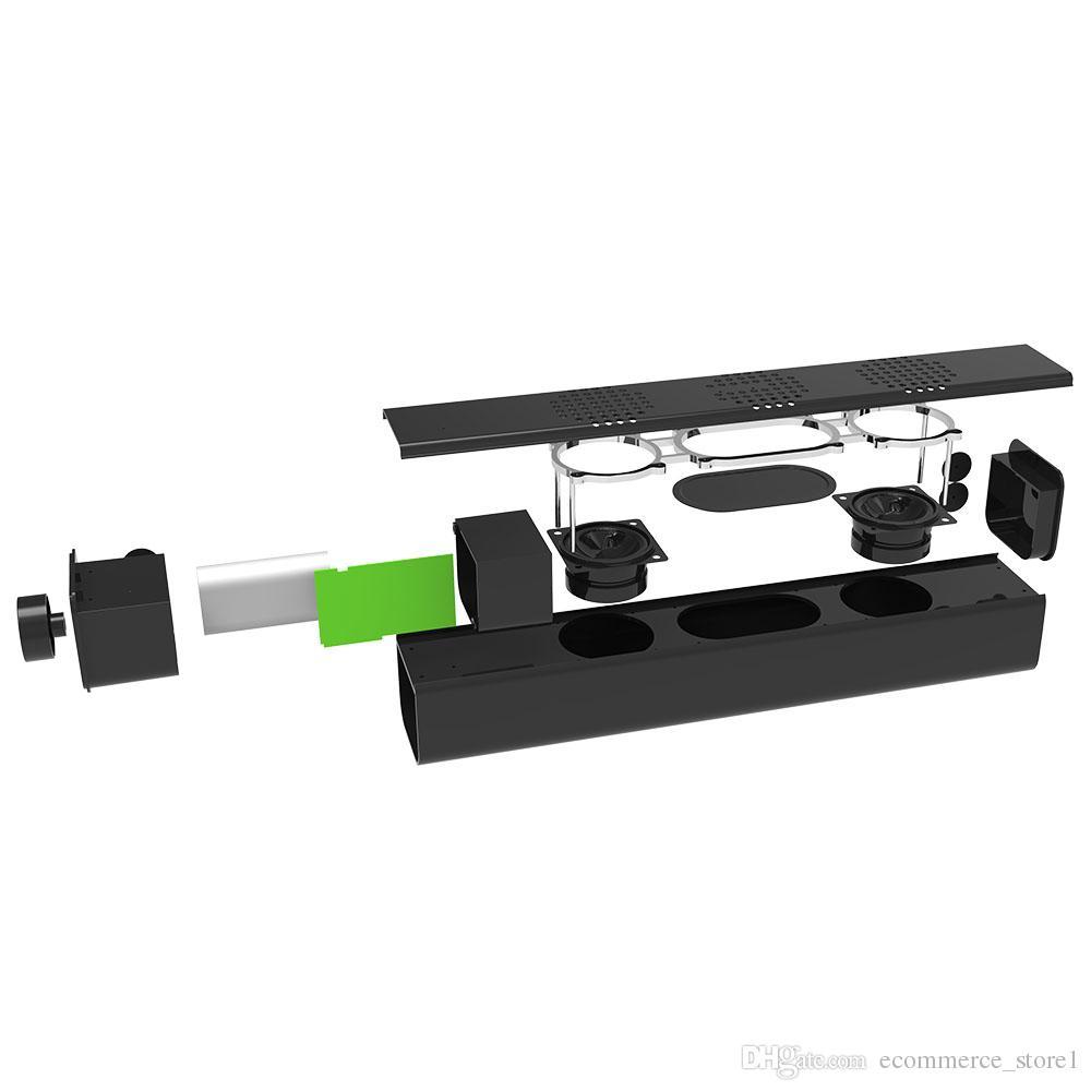 20 W Büyük Güç Orijinal HiFi Taşınabilir Bluetooth Mini Kablosuz Bas Hoparlör Subwoofer Stereo Ses Bar ile Mic USB Amplifikatörler Hoparlör