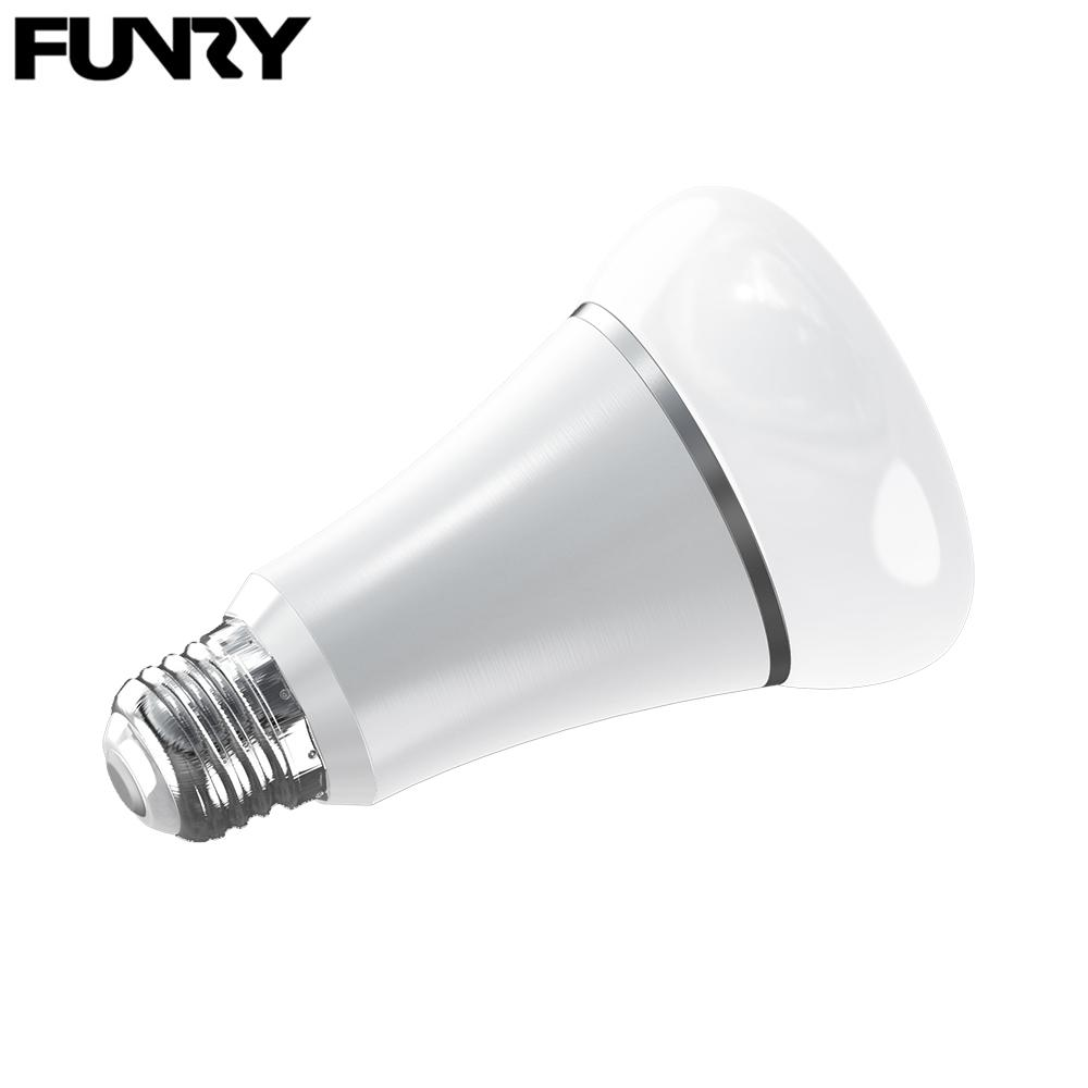 Funry Wifi Tb Y Smart Rgb Color Changing Light Bulb Led Colorchanging Par38 02 Lamps Dimmable E27 Lamp Base Work With Alexa Spotlight Bulbs 100w From